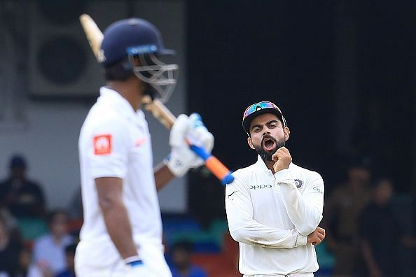 Kohli tries his best to rejuvenate the tired Indian bowlers