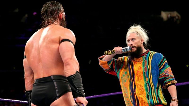 Enzo confronted Neville at the end of this week