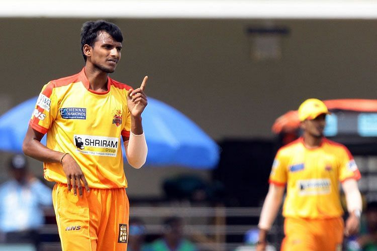 Natarajan continues to impress with his death bowling skills