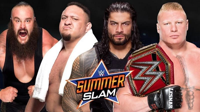 The highlight of Summerslam will be the Fatal 4-way match for the Universal Championship