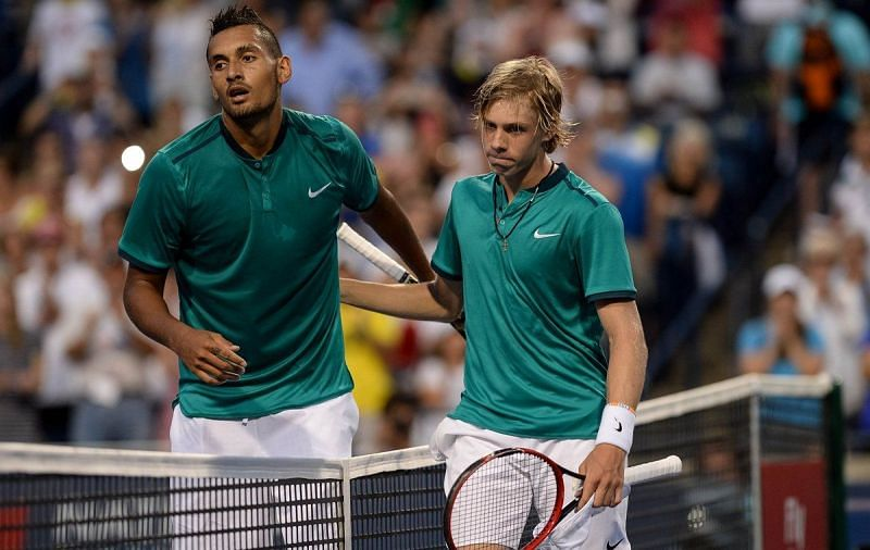 The teenager registered his maiden ATP victory by defeating Nick Kyrgios