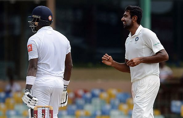 Mathews tried getting on top of the spinners and succeeded for a bit before Pujara took a blinder to send him back