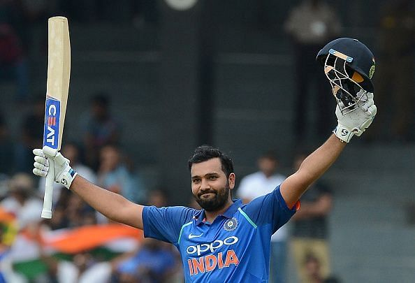 Rohit has scored three hundreds in ten games since comeback