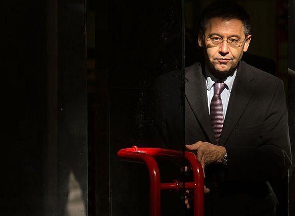 FC Barcelona President Josep Maria Bartomeu Arrives At Madrid High Court