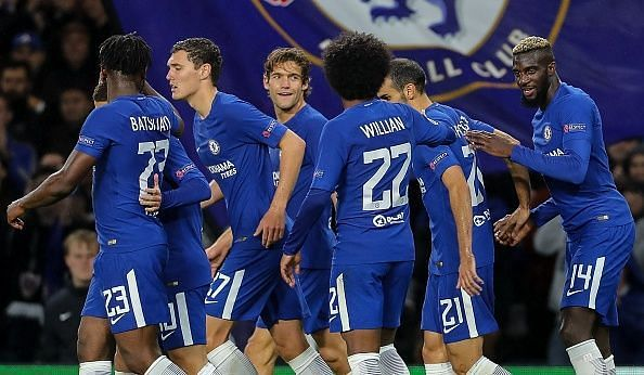 Chelsea opened their Champions League campaign in style