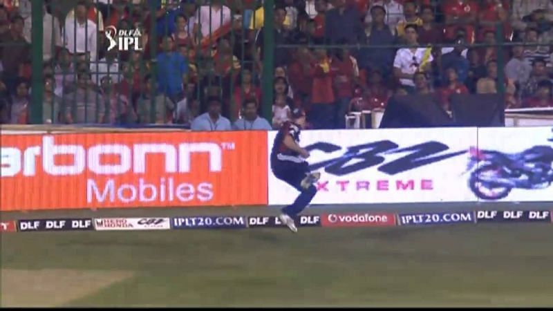 ABD took one of the catches of IPL 2010