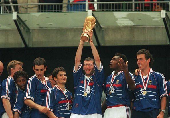 Zidane gave France their greatest triumph in 1998