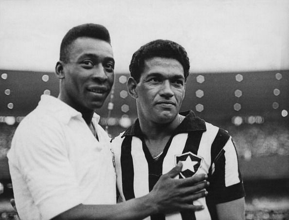 Garrincha is arguably the greatest dribbler of all time.