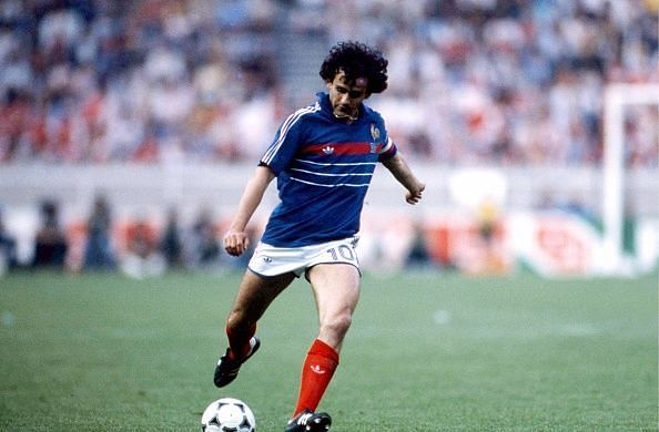 Michel Platini was France