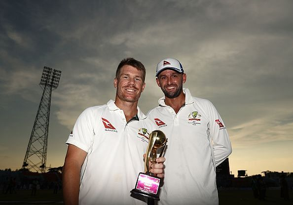 Warner and Lyon moved up following a successful series