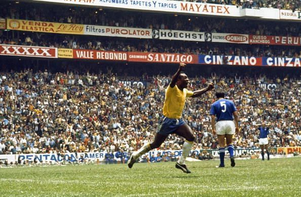 Pele is synonymous with World Cup success.