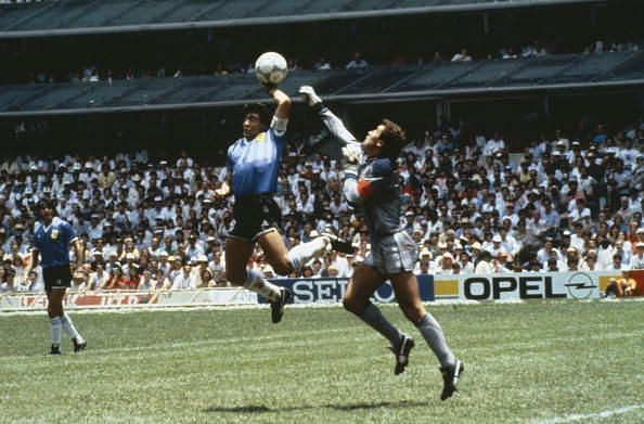 Who can forget Maradona