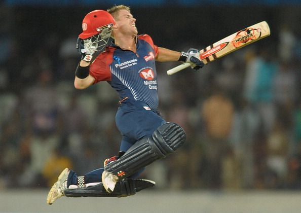 Delhi Daredevils released someone like David Warner in the past