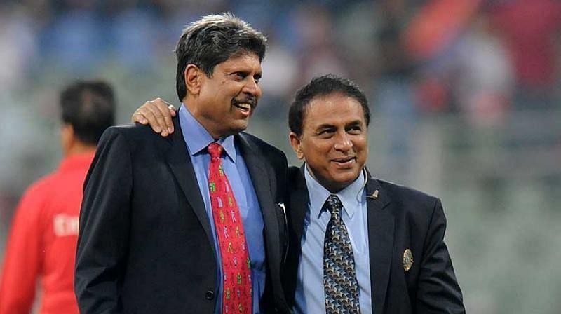Sunil Gavaskar and Kapil Dev