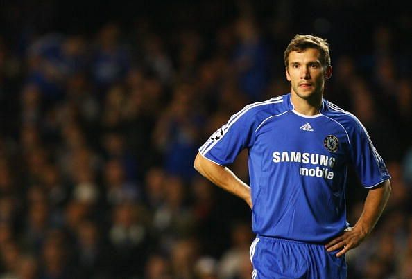 Andriy Shevchenko was one of the deadliest strikers in his time.