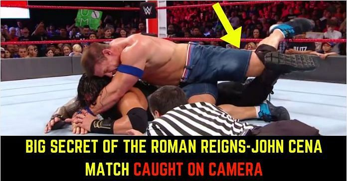 The instances from the Cena-Reigns encounter in No Mercy that needs your attention.