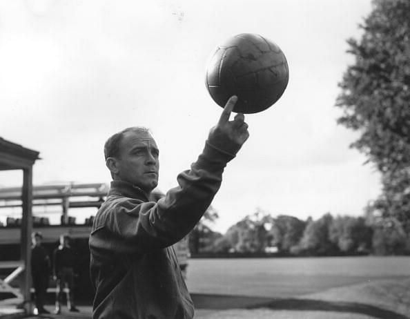 Alfredo Di Stefano is arguably Real Madrid