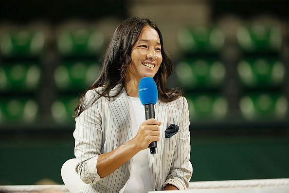 Tennis Player Kimiko Date Second Retirement Press Conference