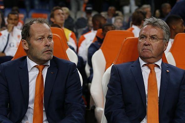Guus Hiddink Danny Blind Netherlands