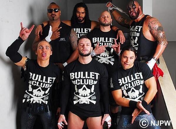 Bullet Club under the leadership of Finn Balor