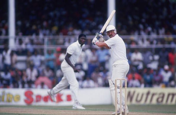 Graham Gooch stood tall against the fearsome West Indies pacers of his era