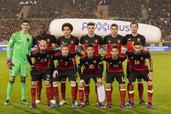 The Belgian national team