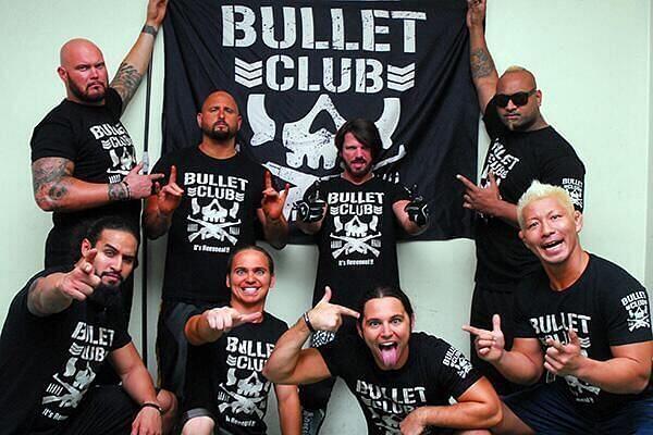 Bullet Club under the leadership of AJ Styles