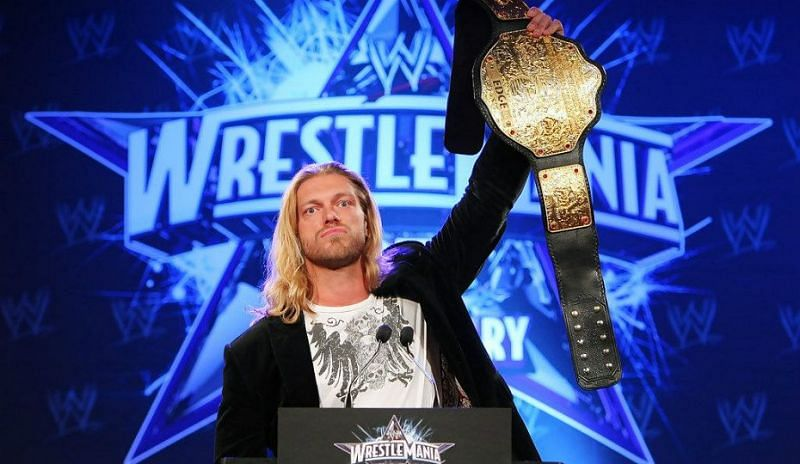 Edge played an important role as a top champion in the WWE during the PG era