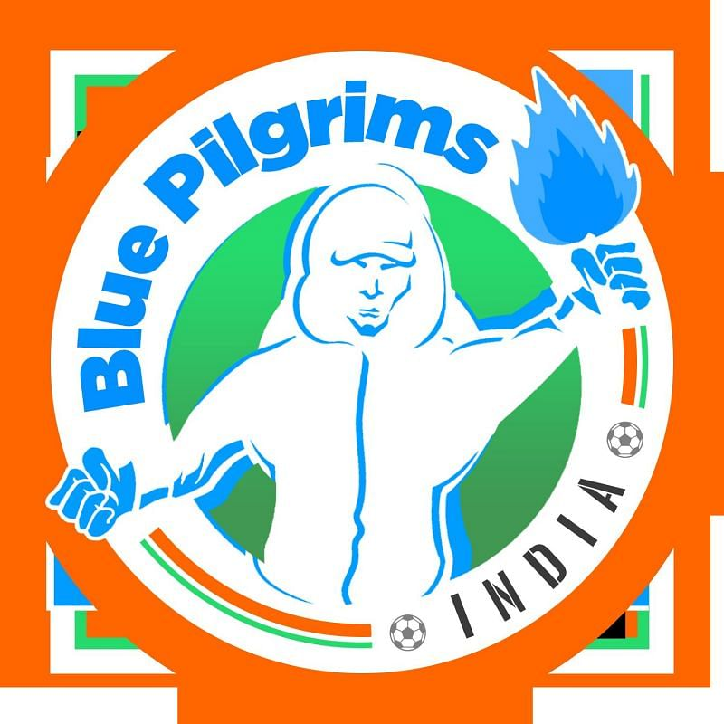 The official crest of the Blue Pilgrims