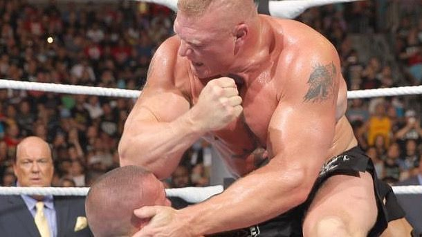 Brock Lesnar is one of the most feared fighters in the world