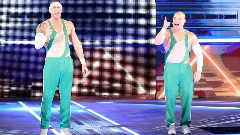 Spirit Squad had made a temporary return to WWE last year