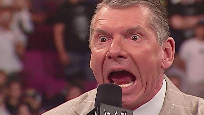 Vince McMahon loses his temper upon sneezing