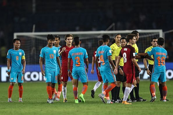 India finished without a single point at the FIFA U17 World Cup