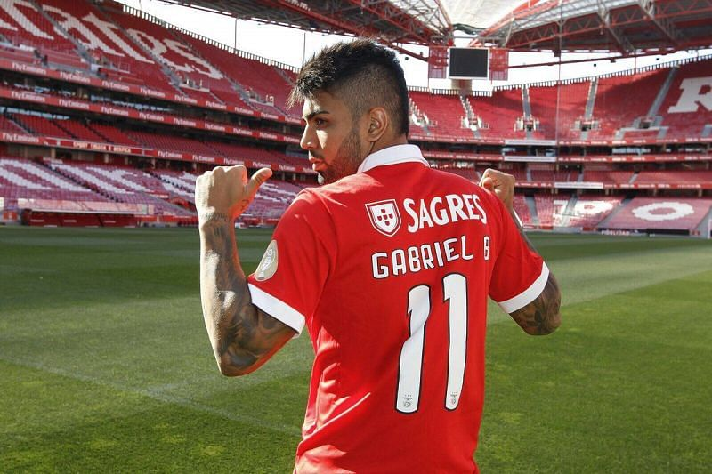 Gabigol is on loan at Benfica and hopes to leave his best impression