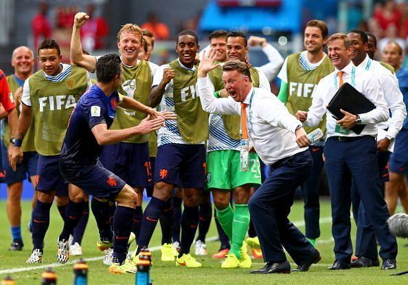 Louis van Gaal Netherlands coach