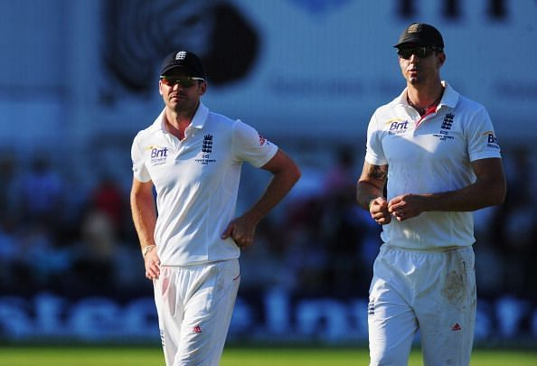 James Anderson and Kevin Pietersen helped England reach the top of the Test rankings in 2011/12