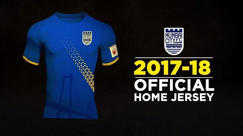 The new Mumbai City FC jersey