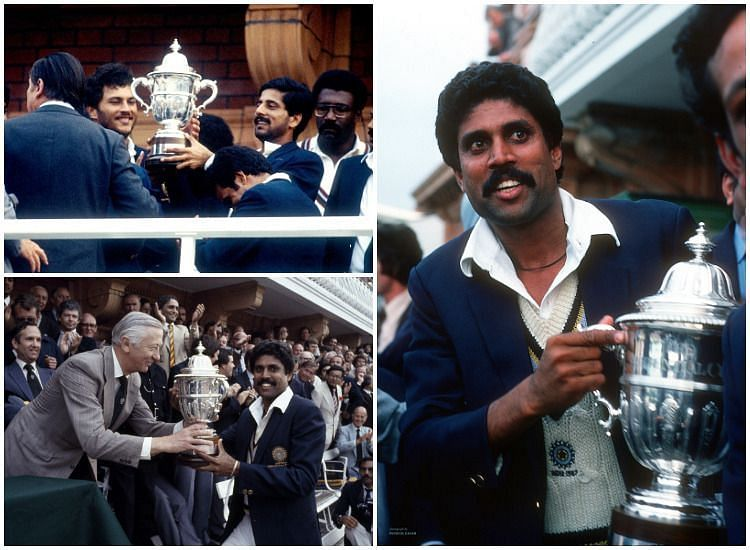 Kapil Dev Kris Srikkanth 1983 World Cup