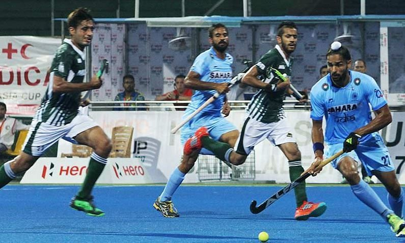 India completely outplayed Pakistan, to secure their spot in the 2017 Hockey Asia Cup final.