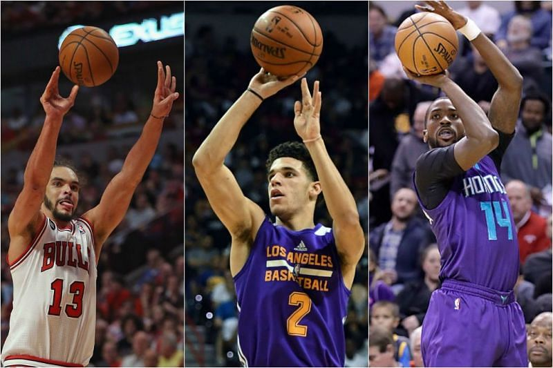Weirdest shooting forms currently in the NBA