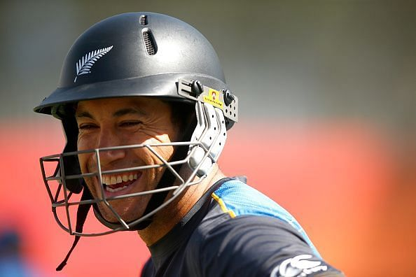 Taylor played a match-winning innings to help the Black Caps take a 1-0 lead