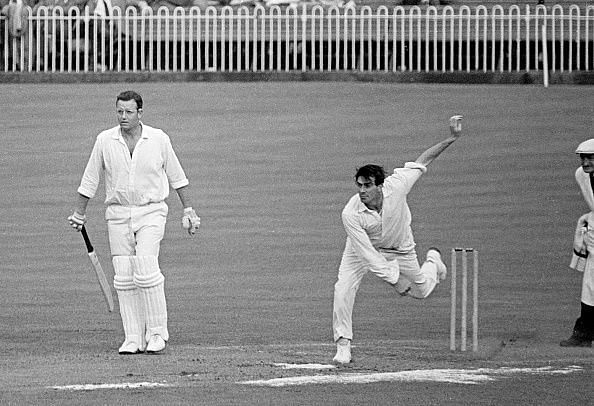 Fred Trueman was the first bowler in Test history to take 300 wickets