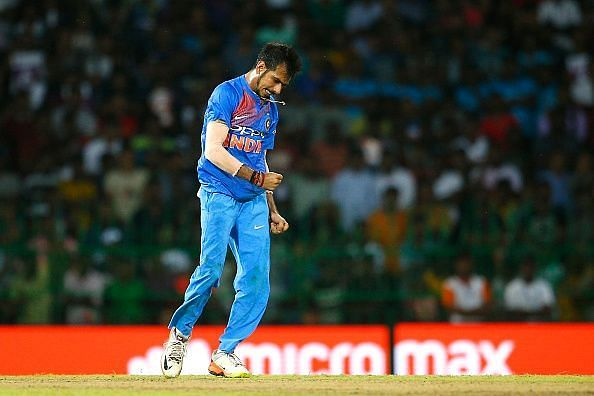 Chahal helped Yadav put pressure on the Aussies