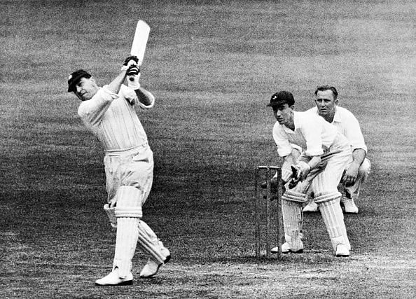 Wally Hammond was one of the most naturally talented batsmen of his generation