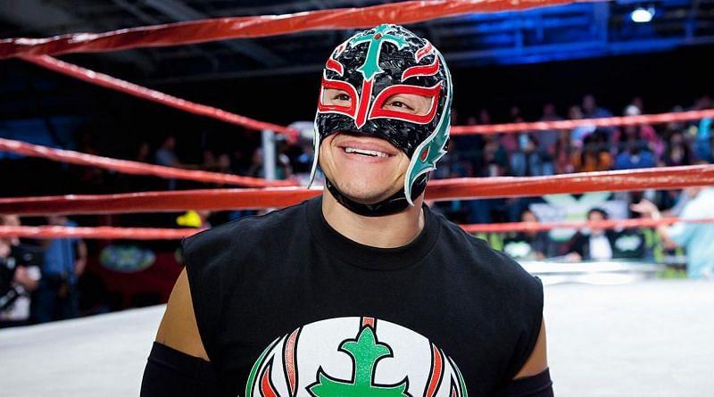 Being a masked wrestler isn