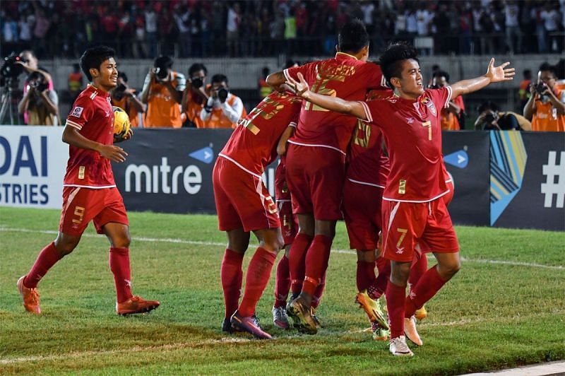 Myanmar national football team