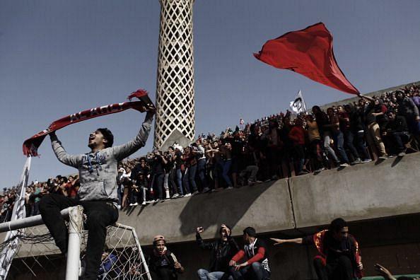 Al Ahly Soccer Fans Celebrate After Port Said Football Massacre Defendants Sentenced To Death