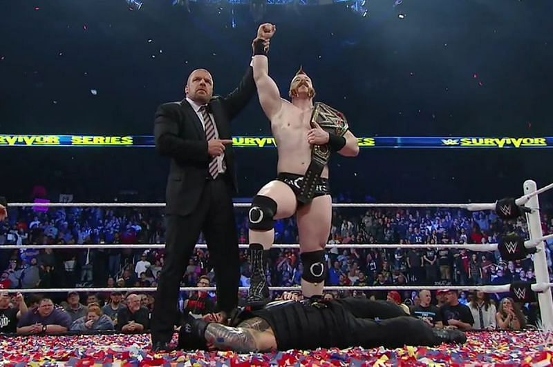 Sheamus shocked the world when he cashed in his contract at Survivor Series 2015
