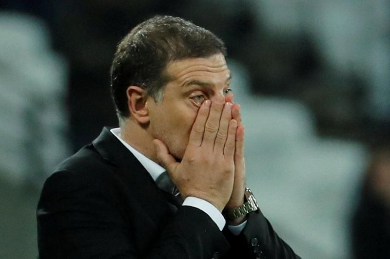 Slaven Bilic, now out of a job.