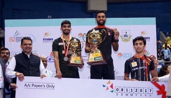 HS Prannoy earned a major victory over Kidambi Srikanth in the final of the National Championships